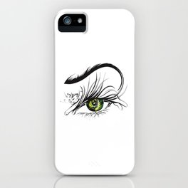 Cat Eye iPhone Case