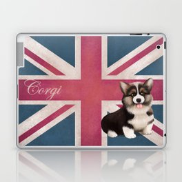 Royal Corgi Baby Laptop & iPad Skin