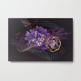 Crystalline Geometrics Metal Print