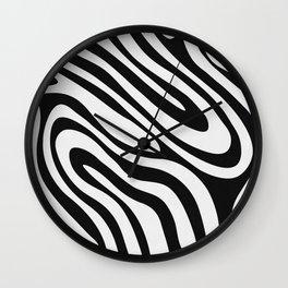 Black & White Minimal II Wall Clock