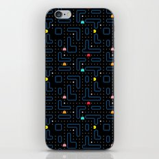 Pacman all over pattern iPhone & iPod Skin