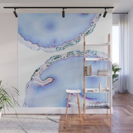 Iridescent agate Wall Mural