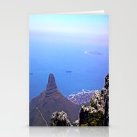south africa Stationery Cards featuring South Africa Impression 9 by Art-Motiva