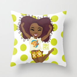 Joyous Throw Pillow