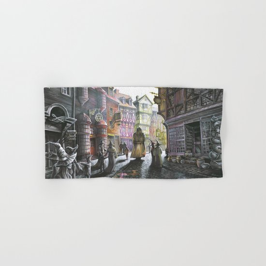 Diagon Alley Hand & Bath Towel