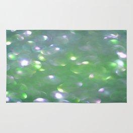 Glitter Bubbling Rug