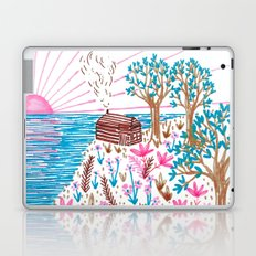 Cliff Top Cabin Laptop & iPad Skin