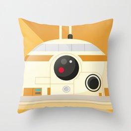 BB-8 Droid Throw Pillow