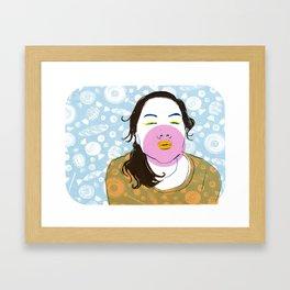 Sugarlips Framed Art Print