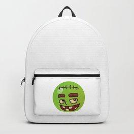 Frankenstein Monster Emoji Backpack
