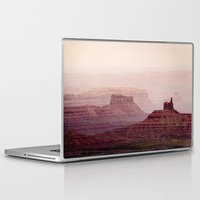 geology Laptop & iPad Skins featuring Valley of The Gods by Helix Games Media