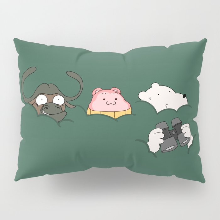 In the bush (Peepoodo) Pillow Sham