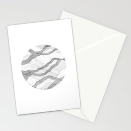 Mountainscape 7 Circle Stationery Cards