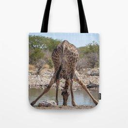 Giraffe 8 Tote Bag
