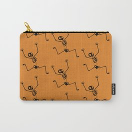 Halloween Skeleton Pattern Carry-All Pouch