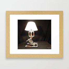 Articulated Desk Lamps - Copper and Chrome Collection - FredPereiraStudios_Page_19 Framed Art Print