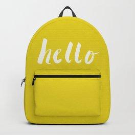Hello x Sunshine Script Backpack