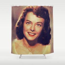 Paulette Goddard, Vintage Actress Shower Curtain