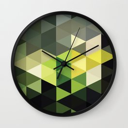 Another Touch Of Green Wall Clock