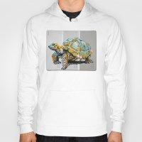tortoise Hoodies featuring Tortoise by aceta