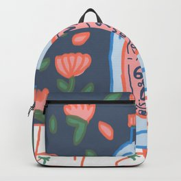 drink me - Remember to drink water, our body is 60% H2O Backpack
