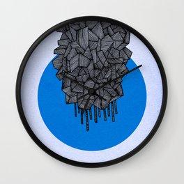 - future grey - Wall Clock