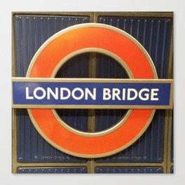 London Bridge Station Canvas Print