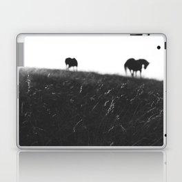 Horses on horizon Laptop & iPad Skin