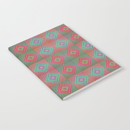 Colonial Rug Pattern Notebook
