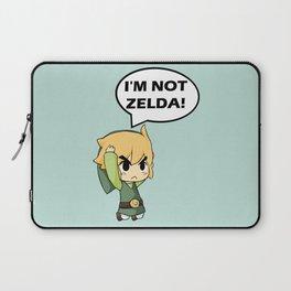 I'm not Zelda! (link from legend of zelda) Laptop Sleeve