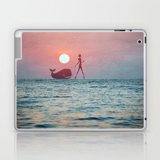 Whale Walk Laptop & iPad Skin