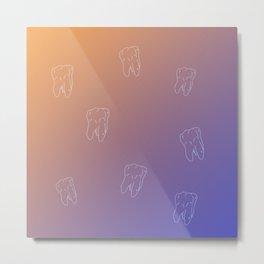 Teeth & Tooth Metal Print
