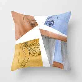 Ângelo de Sousa Throw Pillow