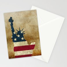 Vintage Statue of Liberty Stationery Cards