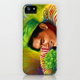 Alex Wassabi & The Tale of the Emerald Flower iPhone Case