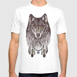 Wind Catcher Wolf T-shirt