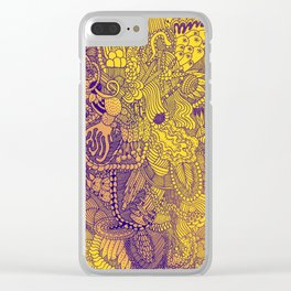The Underbrush Yellow Clear iPhone Case