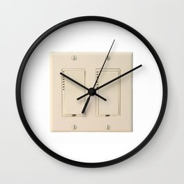 Wall Switch Wall Clock