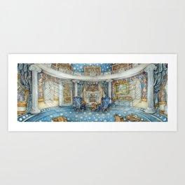 Ravenclaw Common Room Kunstdrucke