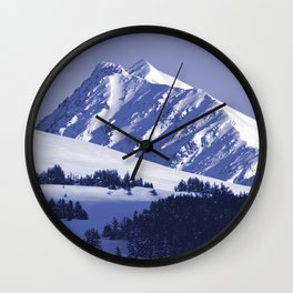 Back-Country Skiing - 8 Wall Clock