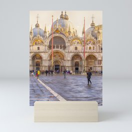 Saint Mark's Basilica, Venice (Italy) Mini Art Print