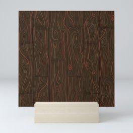 Wood Panel Pattern Mini Art Print