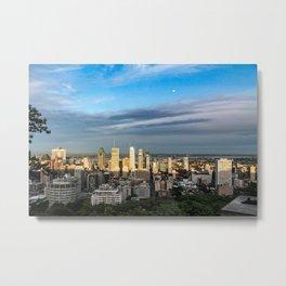 Montreal Skyline Metal Print