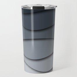 Abstract wavy design Travel Mug