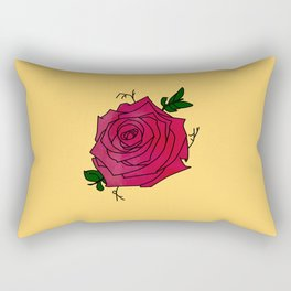 Rosa Rosa Rectangular Pillow