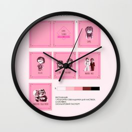 UP Carl Ellie Wall Clock