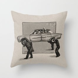 Another classic CD Throw Pillow