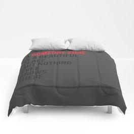 A Comfort Zone Comforters