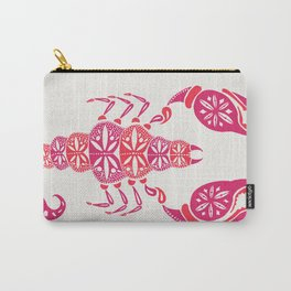 Pink Scorpion Carry-All Pouch