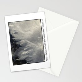 Christmas Card: Frost Beauty Stationery Cards